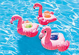Надувные подстаканники Intex Фламинго (33х25 см, 3 шт), фото 2