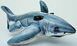 Детский надувной плотик игрушка Акула 173х104см, фото 2