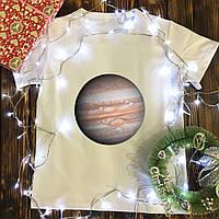 Мужская футболка с принтом - Юпитер