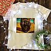 Мужская футболка с принтом - Лицо войны