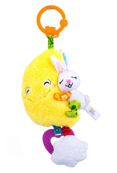 Музыкальная игрушка зайка на луне Balibazoo (24 см)