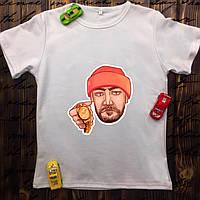 Мужская футболка с принтом - Баста/Ноганно