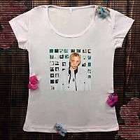 Женская футболка  с принтом - T-Fest
