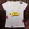 Женская футболка  с принтом - На Стиле
