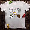 Мужская футболка с принтом - Животные-единорожки