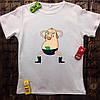 Мужская футболка с принтом - Дигги стриптезёр