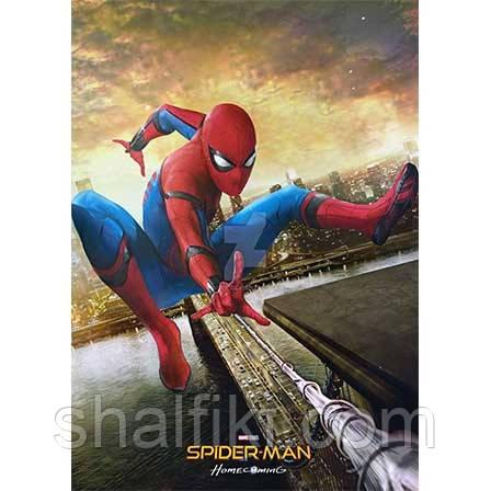 """""""Человек паук (Марвел)"""" плакат А3 в ламинации"""