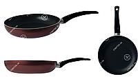 Сковорода GUSTO GT-2100-26/1 покрытие Xylan 260x50 мм