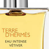 Hermes Terre d'hermes Eau Intense Vetiver парфумована вода 100 ml. (Терра Д Гермес Єау Інтенс Ветивер), фото 5