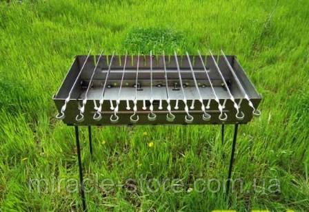 Мангал раскладной Stenson на 12 шампуров, фото 2