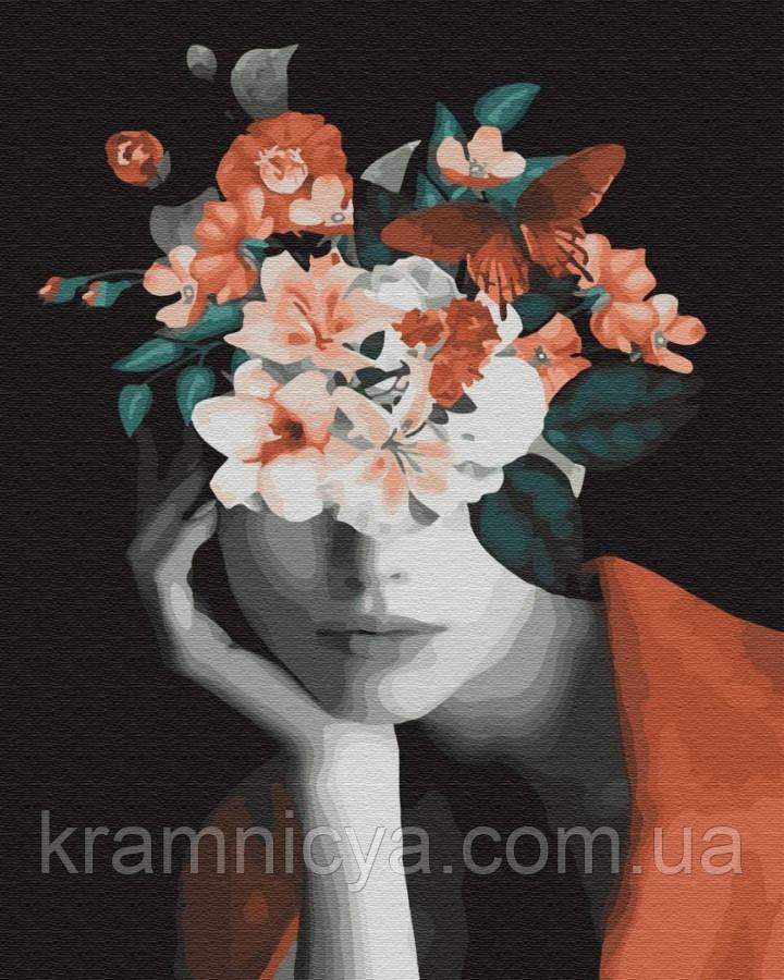 Картина за номерами Думки в кольорах, 40х50 Brushme (GX34185)