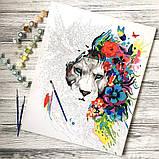 Картина за номерами Думки в кольорах, 40х50 Brushme (GX34185), фото 8