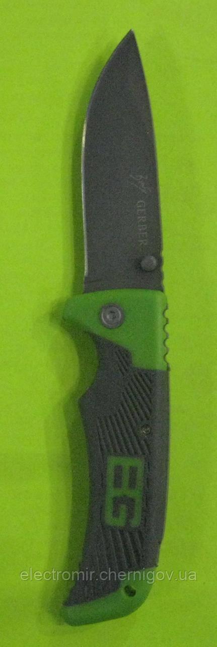Нож складной с фиксатором Gerber U-4 (зелёный)