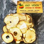 Фруктовые чипсы из яблок-25 и груш-25, смесь 50 грамм, фото 1