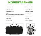 [ОПТ] Портативная акустическая Bluetooth колонка динамик Hopestar H36, фото 8