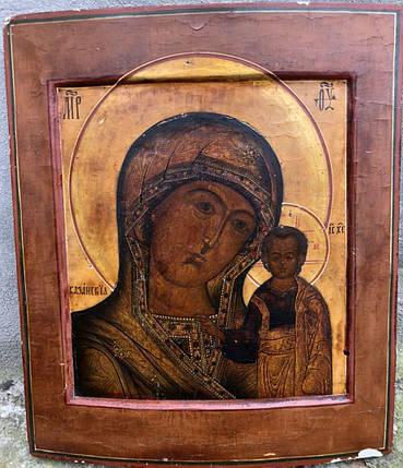 Казанская икона Божьей матери 18 век, фото 2