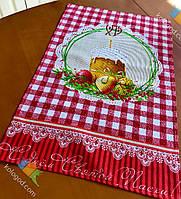 Пасхальне Великодній Рушник Серветка Бавовняний Великодній Рушник Tirotex 4 Кольори 8 Шт В Упаковці Розмір 71 х 45 См