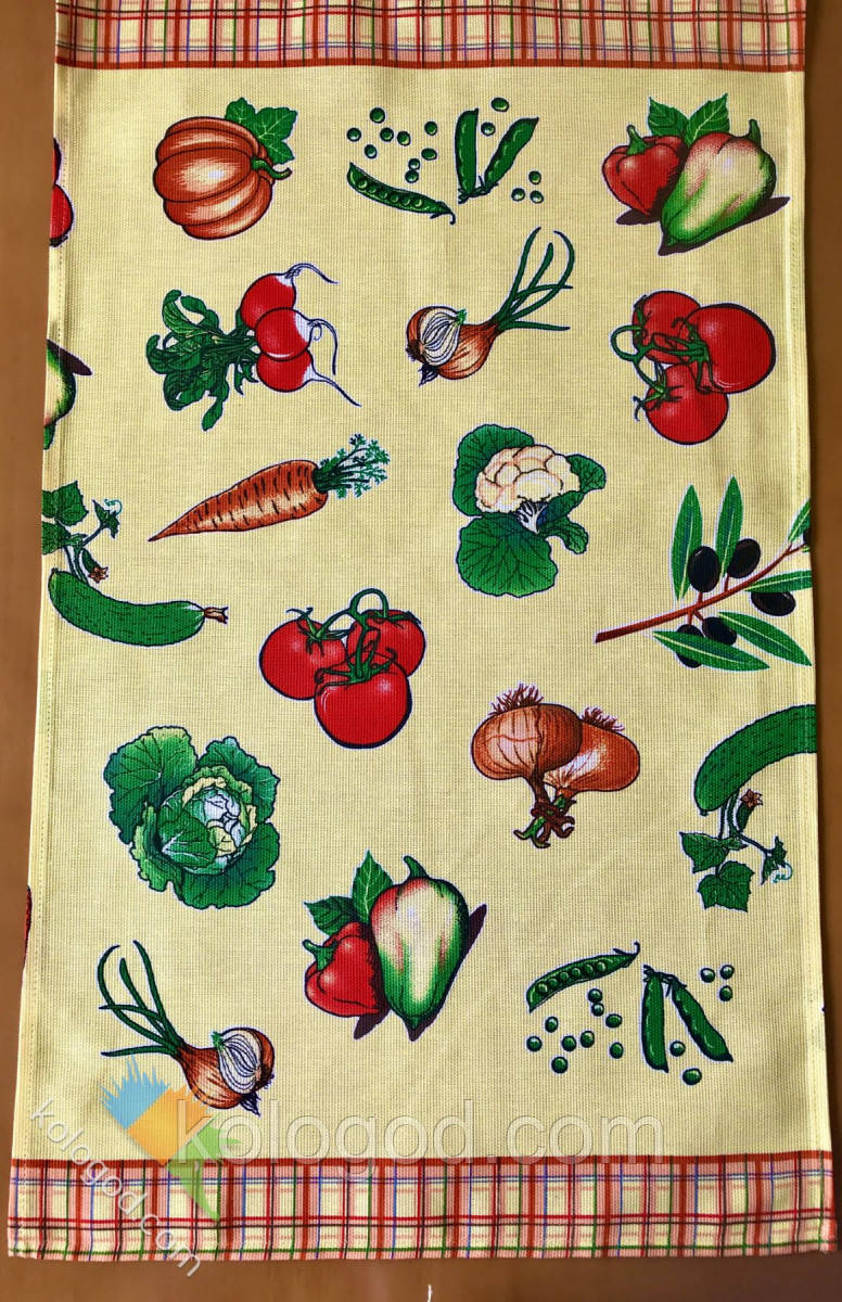 Полотенце Кухонное Хлопковое Кухонное Полотенце С Рисунком 6 Шт В Упаковке Размер 70х43 см