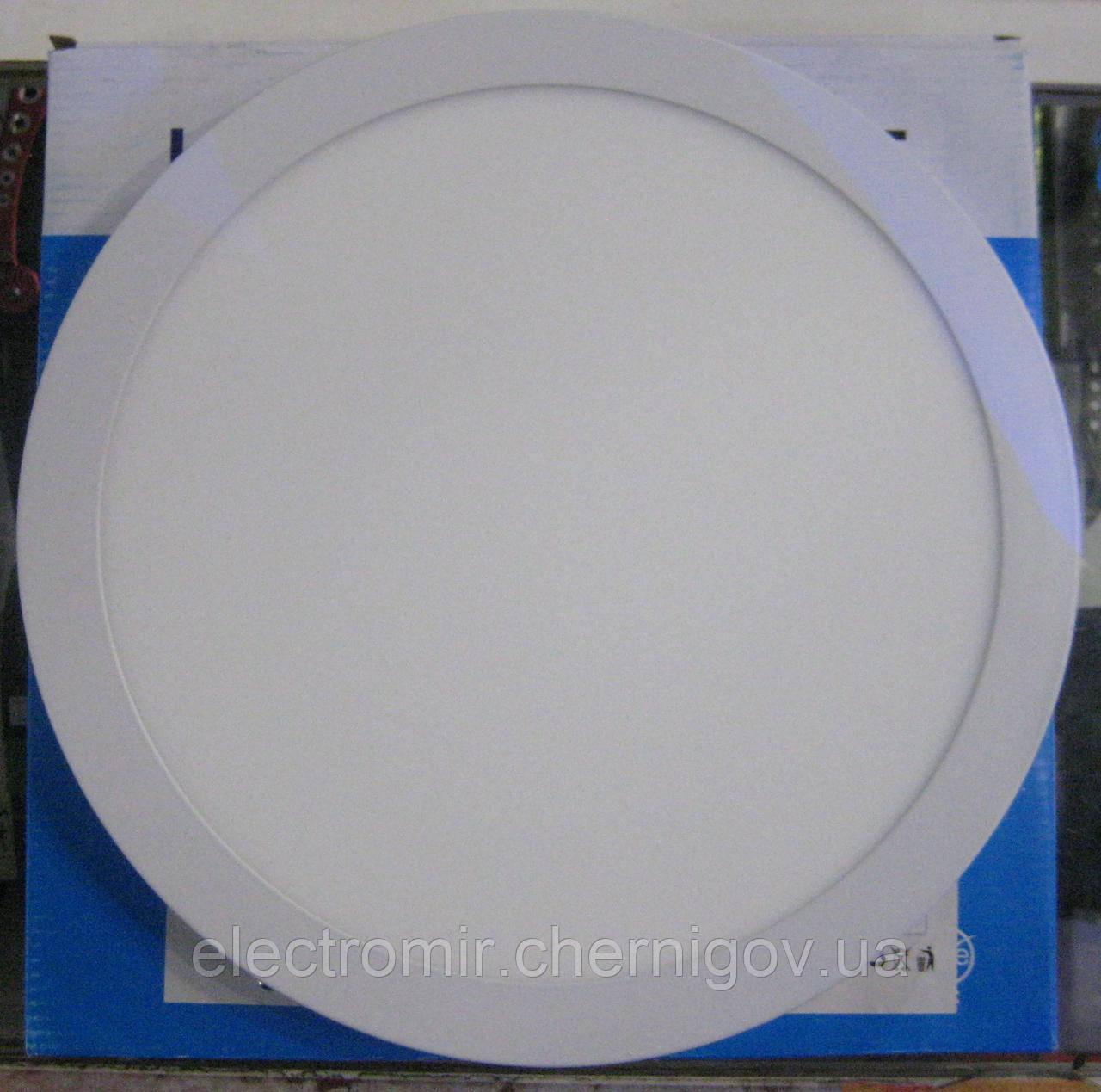 Светильник светодиодный накладной круглый Ecostrum 24W (30 см)