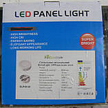 Светильник светодиодный накладной круглый Ecostrum 24W (30 см), фото 2