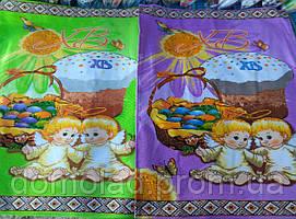 Пасхальне Великодній Рушник Серветка Бавовняний Великодній Рушник Tirotex 9 Шт В Упаковці Розмір 57 х 45 См