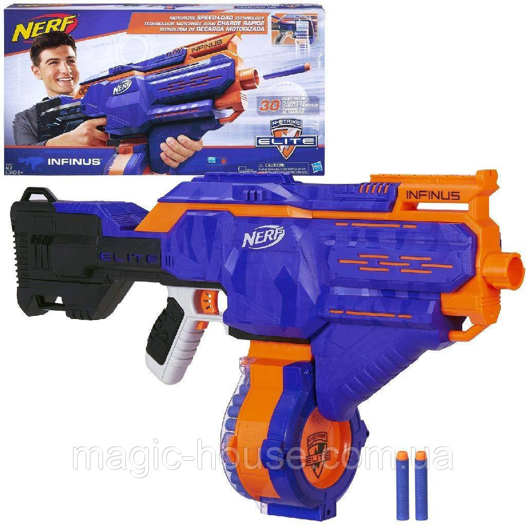 Бластер Nerf Инфинус N-Strike Elite Infinus Оригинал от Hasbro