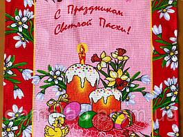 Пасхальне Великодній Рушник Серветка Бавовняний Великодній Рушник Tirotex 9 Шт В Упаковці Розмір 58 х 44 См