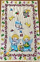 Пасхальне Великодній Рушник Серветка Бавовняний Великодній Рушник Tirotex 9 Шт В Упаковці Розмір 70 х 44 См
