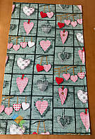 Полотенце Кухонное Хлопковое Кухонное Полотенце С Рисунком Сердце 6 Шт В Упаковке Размер 71х42 см