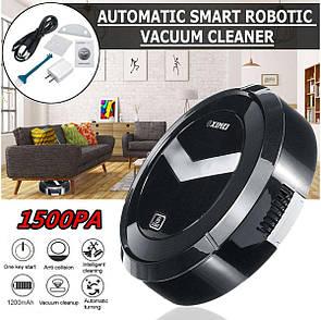 Робот пылесос Ximei Smart Robot на аккумуляторе Black- Новинка, фото 2