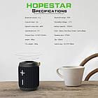 ОПТ Портативная колонка акустическая система беспроводной Bluetooth динамик Hopestar P13 мобильная водостойкая, фото 6