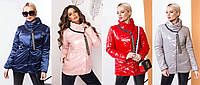 Женская куртка #1176 в расцветках (р. 42-58)