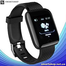 Фитнес-браслет Smart Band 116 Plus - Смарт часы, фитнес браслет, фитнес часы Черные, фото 3