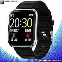 Фитнес-браслет Smart Band 116 Plus - Смарт часы, фитнес браслет, фитнес часы Черные, фото 2