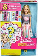 Кукла Барби профессия-сюрприз, lBarbie Doll with 2 Career Looks, Mattel Оригинал из США