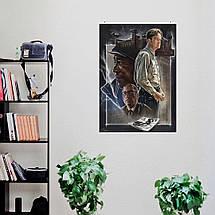 "Постер ""Побег из Шоушенка (The Shawshank Redemption)"", Стивен Кинг, Морган Фримен. Вариант №2. Размер 60x45см (A2). Глянцевая бумага, фото 3"