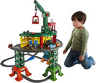 "Железная дорога, супер станция ""Томас и друзья"" Fisher-Price Thomas & Friends Super Station"
