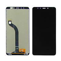 Дисплей (LCD) Xiaomi Redmi 5 с тачскрином, черный (сервисный оригинал)