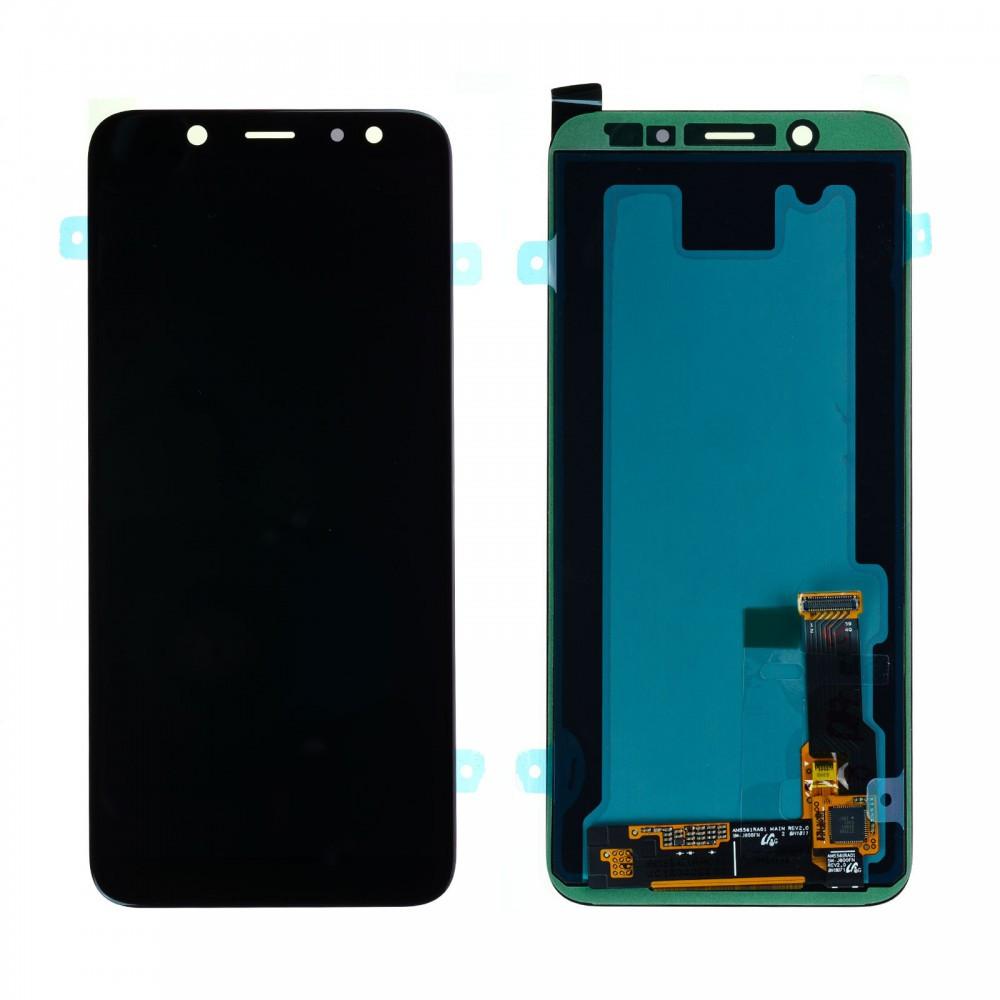 Дисплей (LCD) Samsung A600 Dual Galaxy A6 (2018) TFT с тачскрином, черный