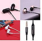 ОПТ Дротові навушники вакуумні Celebrat G1 з мікрофоном, фото 9