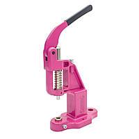 Пресс для установки швейной фурнитуры Presmak Розовый