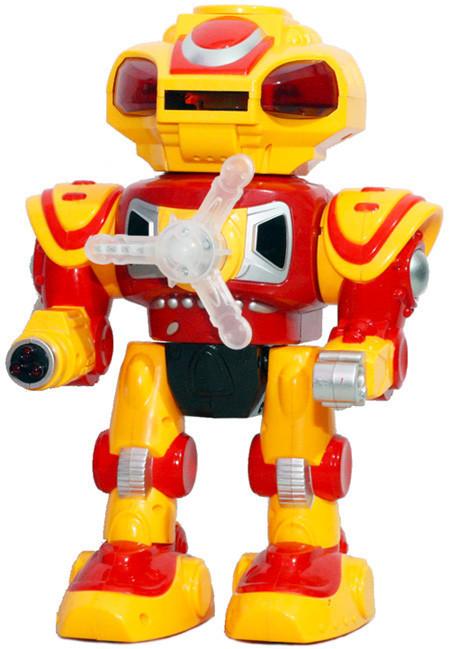 Робот 8808 на батар, свет, звук, 3 вида (Жолтый)