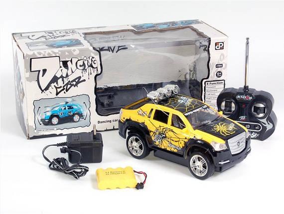 Машина аккум р/у 23813D (Жолтая), фото 2