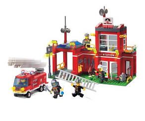 Конструктор BRICK 910 Пожарная тревога, фото 2