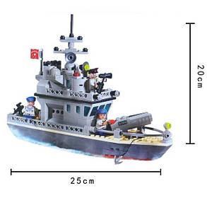 Конструктор BRICK 819 военный корабль, фото 2