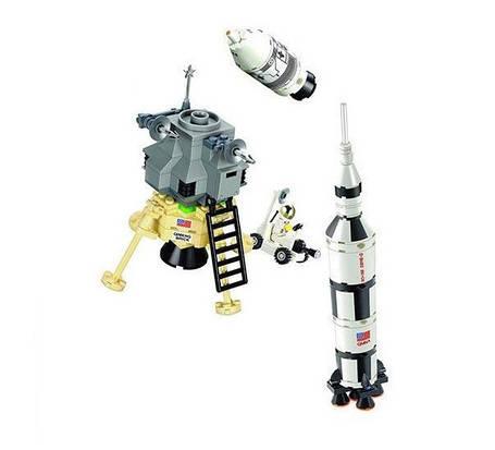 Конструктор BRICK 511 космическая ракета, фото 2