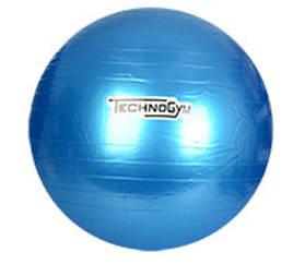 М'яч для фітнесу-75см MS 0983 (Синій), фото 2