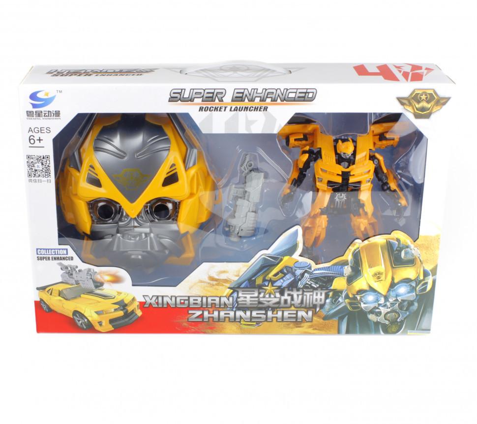 Трансформер 81502-2 Bumblebee з маскою