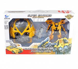 Трансформер 81502-2 Bumblebee з маскою, фото 2