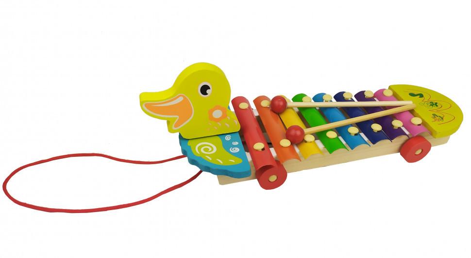 Деревянная игра Ксилофон (Утка) / Музыкальные игрушки / Развивающие игрушки